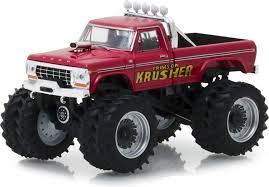 100 Ford Monster Truck Amazoncom Greenlight 164 Kings Of Crunch Series 2 1973 F