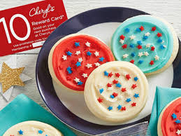 Cheryl's Cookies Red, White & Blue Cookie Sampler AND $10 ...