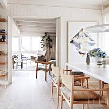 A Mix Of Raw And White Painted Wood Creates An Airy Aesthetic In This Melbourne