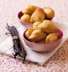 cuisine facile madeleines facile à la vanille les meilleures recettes de cuisine
