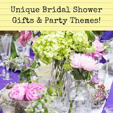 Unique Bridal Shower Gifts Party Themes