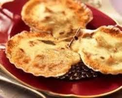 cuisiner les coquilles st jacques surgel馥s recette coquilles st jacques sauce noilly
