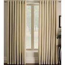 shop allen roth sullivan 84 in ivory polyester grommet light