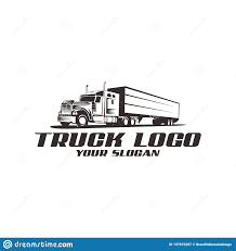 100 Free Truck Vector Logo Tamplate Stock Illustration