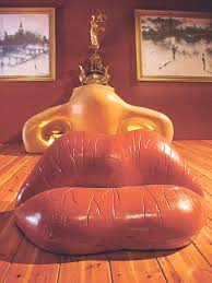 Salvador Dali Mae Wests Lips Sofa by Take A Stroll Through Salvador Dali U0027s Dreams In Figueres Travel