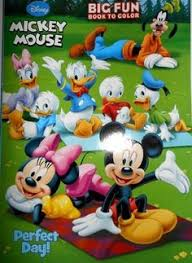 Disney Mickey Mouse Handy Manny Clubhouse Set Of 4 Different 96 Page Coloring Books By Dalmatian Press 1995