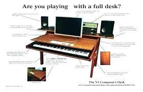 Music Studio Desk Popular For Small Desks Best Images About Brilliant Home Decor