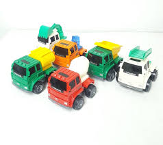 100 Toy Construction Trucks Push Go Mechanical
