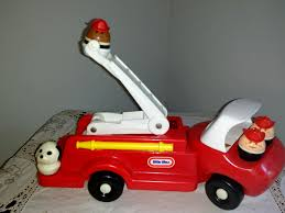 Lot Vintage Little Tikes Toddle Tots 1980's Fire Truck With FIremen ... Little Tikes Fire Truck Bayi Kkanak Alat Mainan Dan Walkers Fire Truck 4 Men Chunky People Vintage 80 S Toy Vgc Engine Toddler Bed Best Resource Slammin Racers Toys R Us Canada Spray Rescue At Mighty Ape Nz Makeover In 2018 Loves Jual Di Lapak Ajeng Ajengs77 Ones Creative Life Bali Baby Shop Foot To Floor Replacement Parts