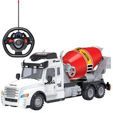 100 Toy Cement Truck Remote Control RC With Lights Chef