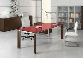 bureau verre design s duisant bureau contemporain design ensemble directionnel de