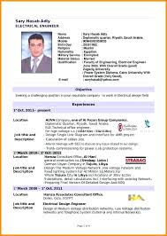 Resume Sample Doc Of Fresh Graduate Template For