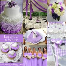 Lavender And White Wedding Colors