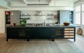Industrial Kitchen Island Cabinet Design On Wheels