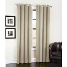 Thermal Curtain Liner Grommet by Sun Zero Semi Opaque Stone Gregory Room Darkening Grommet Top