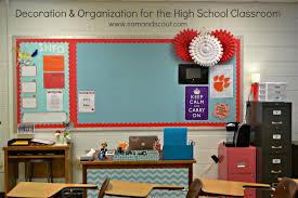 Decoration & Organization for the High School Classroom Teaching