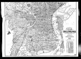 Philly Mural Arts Map by Philadelphia Street Map 1890 Mcelroys Street Directory