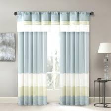 Striped Sheer Curtain Panels by Striped Window Panels U2013 Craftmine Co