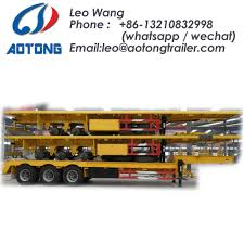 100 Used Truck Trailers For Sale China Widely 20ft40ft Container Semi For