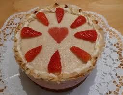 erdbeer vanillecreme torte
