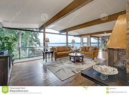 100 Panorama House Beautiful Interior Greatfamily Room Stock
