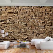 details zu vlies fototapete 3d steine ziegelwand ziegel tapete wandbilder wohnzimmer