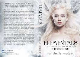 Elementals The Prophecy Of Shadows By Michelle Madow Cover Reveal