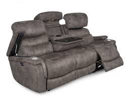 Sams Leather Sofa Recliner by Steinhafels Living Room Sofas