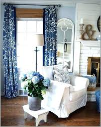 Navy And White Curtains Luxury Royal Blue Living Room Design Ideas Striped Drapes Lu