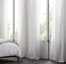 Restoration Hardware Curtain Rod Extension by Sheer Linen Drapery