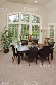moderne esszimmer mit teppich stockfoto und mehr bilder architektonisches detail