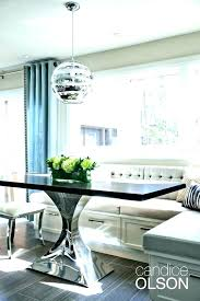 Dining Booth Dimensions Furniture Room Tables Style S Table Pads E Interior Kitchen