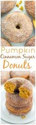 Pumpkin Cake Mix Donuts by Pumpkin Cinnamon Sugar Donuts Includes Vegan Version Baker By