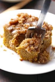 Pumpkin Cake Mix Bars by Cinnamon Streusel Pumpkin Coffee Cake With Maple Glaze Recipe