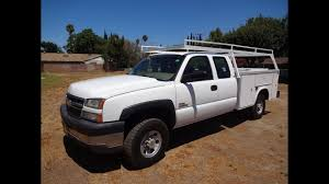 100 Chevy Utility Trucks For Sale SOLD 2005 Chevrolet 3500 Diesel 4x4 Truck YouTube