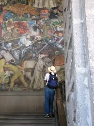 Diego Rivera Rockefeller Mural by Murals Of Diego Rivera U2014 Terry Grant Ragged Cloth Cafe Serving