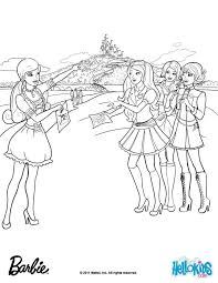 Barbie Princess Charm School Coloring Pages