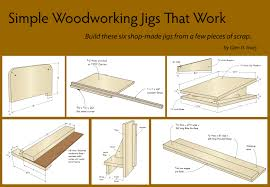 free simple woodworking jigs that work 360 woodworking