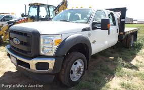 100 Truck For Sale In Texas 2012 D F550 Super Duty Crew Cab Flatbed Truck Item FB95