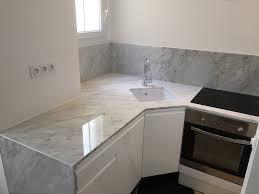plaque de marbre pour cuisine credence cuisine marbre chaios com