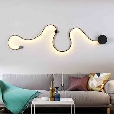 modern minimalist led wall l bedside bedroom wall light