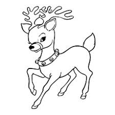 Inspiring Ideas Reindeer Coloring Pages Page A Free