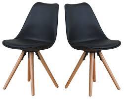 2x esszimmerstuhl nelle küchenstuhl esszimmer küche stuhl stühle eiche schwarz