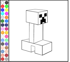 Play Minecraft Coloring Pages Game
