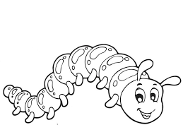 Bugs Activities For Preschool Caterpillar Coloring Pages