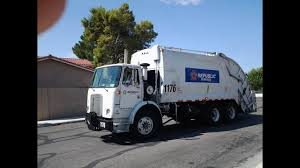 100 Garbage Truck Youtube Republic Services Volvo Xpeditor McNeilus Rear Load