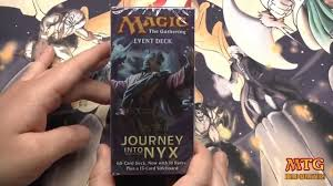 journey into nyx event deck wrath of the mortals unboxing youtube