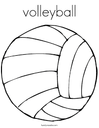 Great Volleyball Coloring Pages 38 In Free Kids With