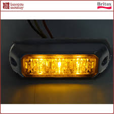 100 Strobe Light For Trucks Britax Flashing Directional Amber 3 LED Module Truck