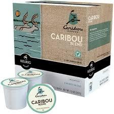 Caribou Blend Medium Roast Coffee K Cups